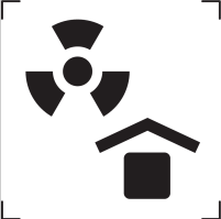 Protect from radioactive source icon