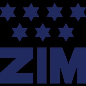 Logo shipping company ZIM