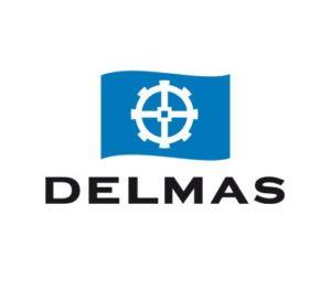 Logo shipping company Delmas
