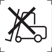 do not use forklift icon