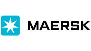 logo shipping company maersk