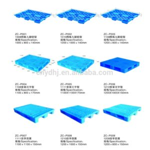 different types of plastic pallets