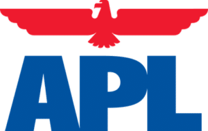 logo APL shipping company