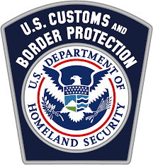 logo of the US customs