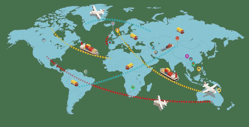 map docshipper world