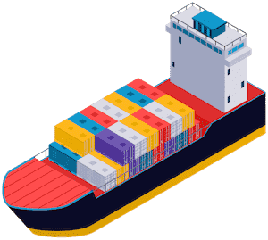 Sea freight one of the most using shipping method